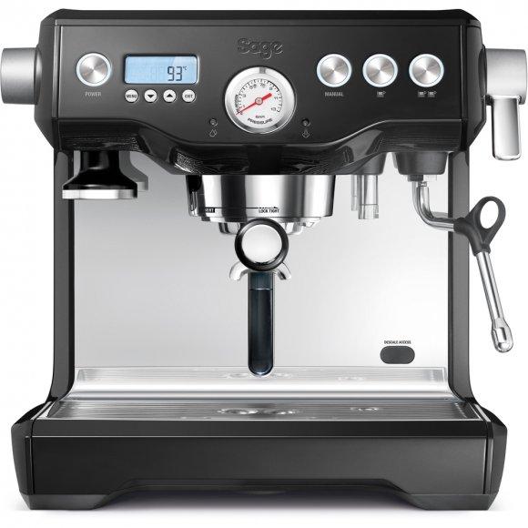 Espresso černé SAGE BES920 + Mlýnek na kávu černý SAGE BCG820BKS