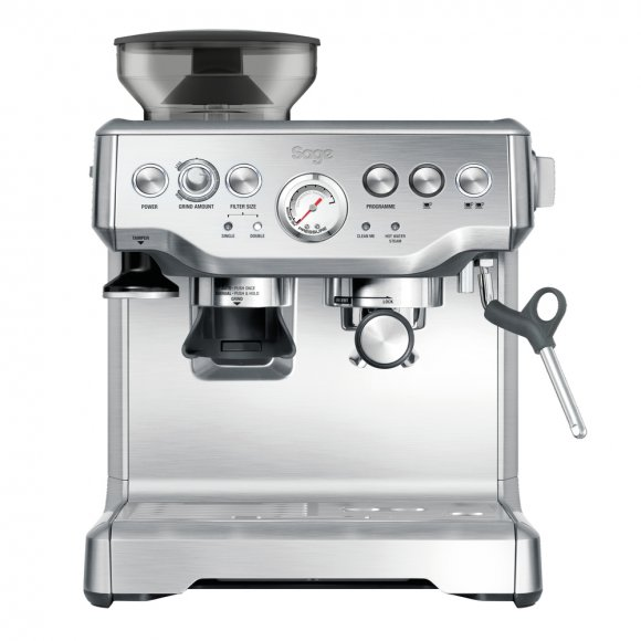 BES870 Espresso SAGE + Odklepávač BES100 + Konvička BES003