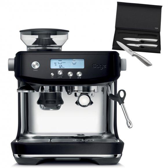 SES878BTR Espresso SAGE + SET Nožů LT2006