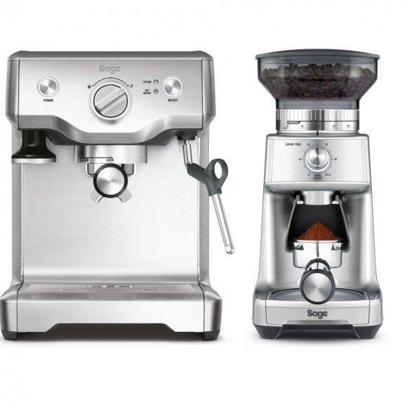 SADA Espresso Sage BES810 + Mlýnek BCG600SIL