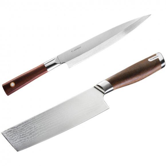 Nůž Catler Sashimi 210 MV + Sekáček Catler DMS 165